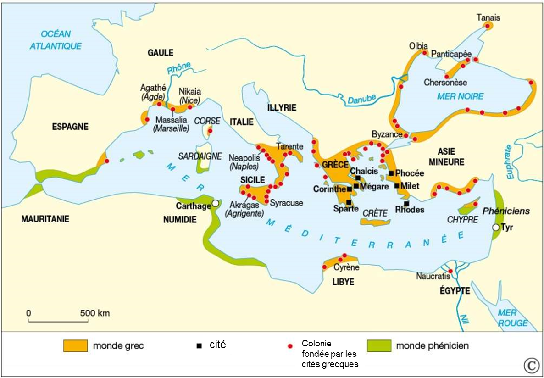 Le monde des cités grecques | laclassehgnumerique